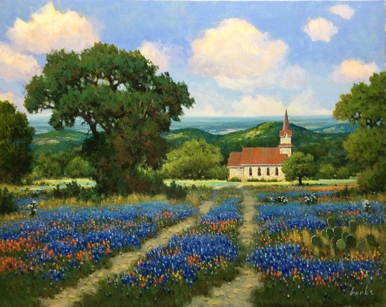 David Forks Landscape Painting - Easter Again