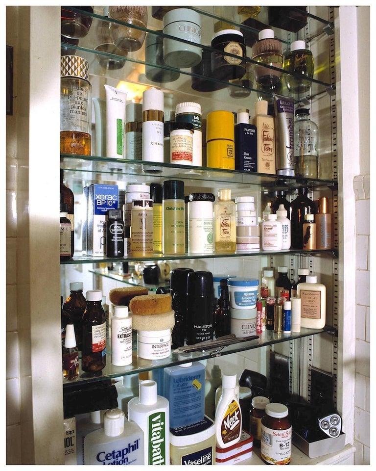 David Gamble Color Photograph - Andy Warhol's Medicine Cabinet