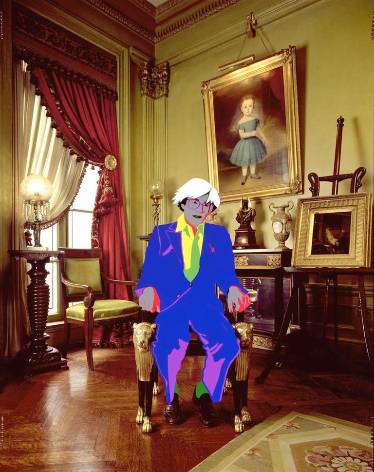 David Gamble Color Photograph - Andy Warhol's Parlor, NYC