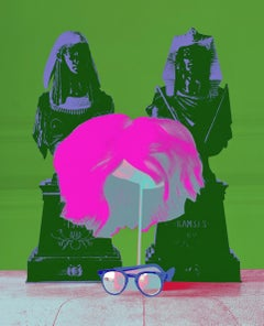 Andy Warhol's Wig & Glasses (Marilyn Color Series)