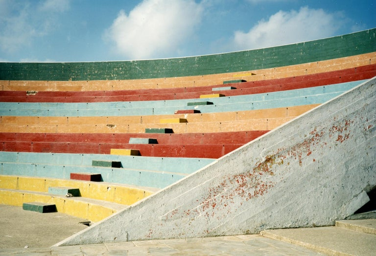 David Graham Color Photograph - Ampitheater, Havana, Cuba