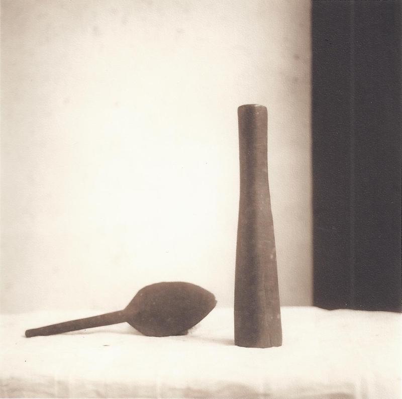 Cloth Making Tool (Sepia Toned Still Life of Tools from Tonga)