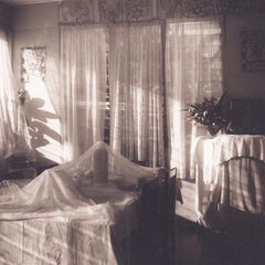 Petit Dejeuner (Sepia Toned Still Life of a Breakfast Room in Tonga)