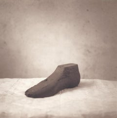 Shoe Form (Sepia Toned Still Life of an Antique Shoemaker's Tool  from Tonga)
