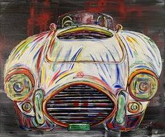 AC Cobra. Contemporary Car Painting