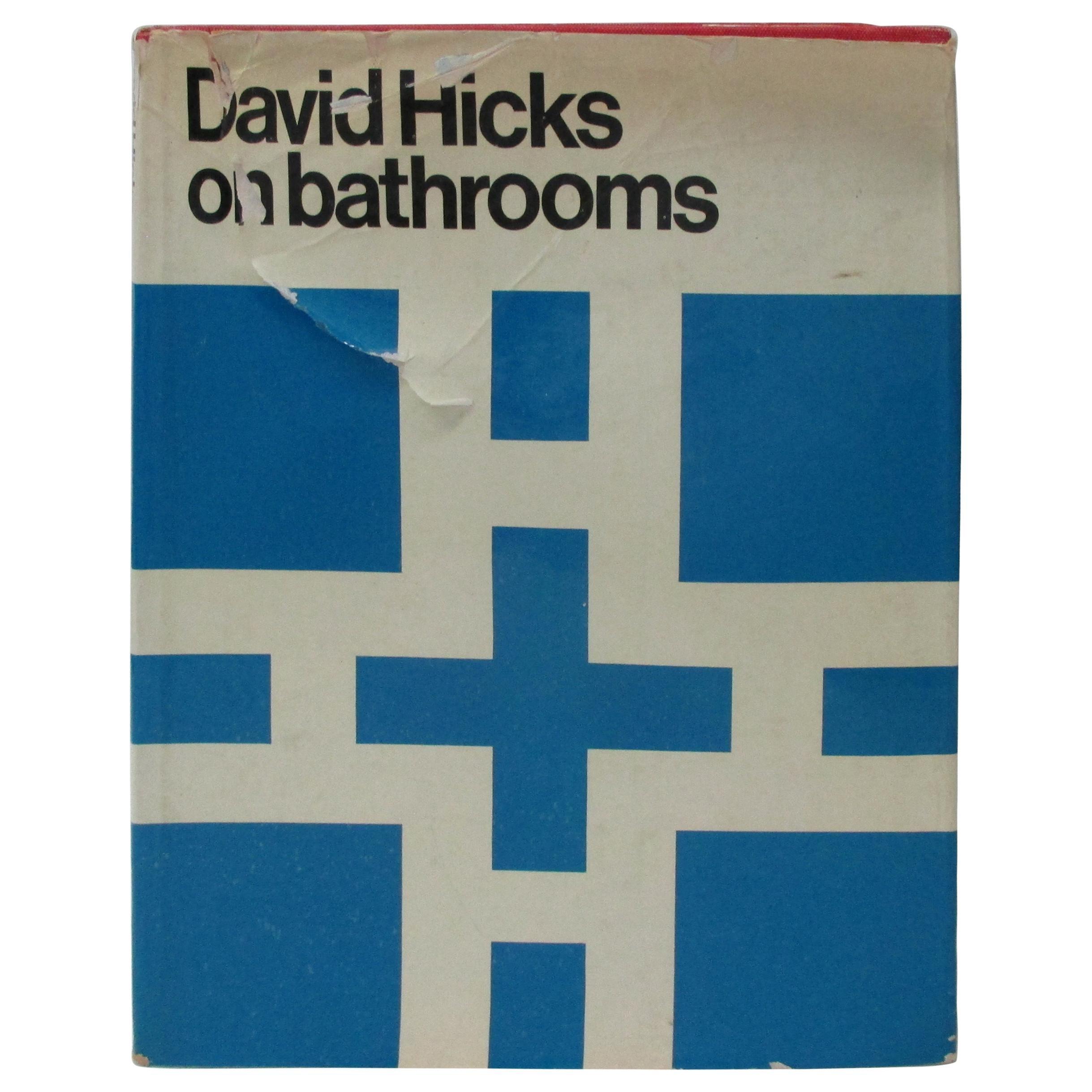David Hicks on Bathrooms Hardcover Book