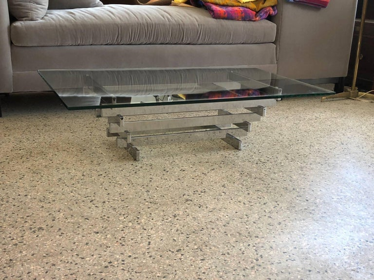 An unusual and rare coffee table by David Hicks, known as