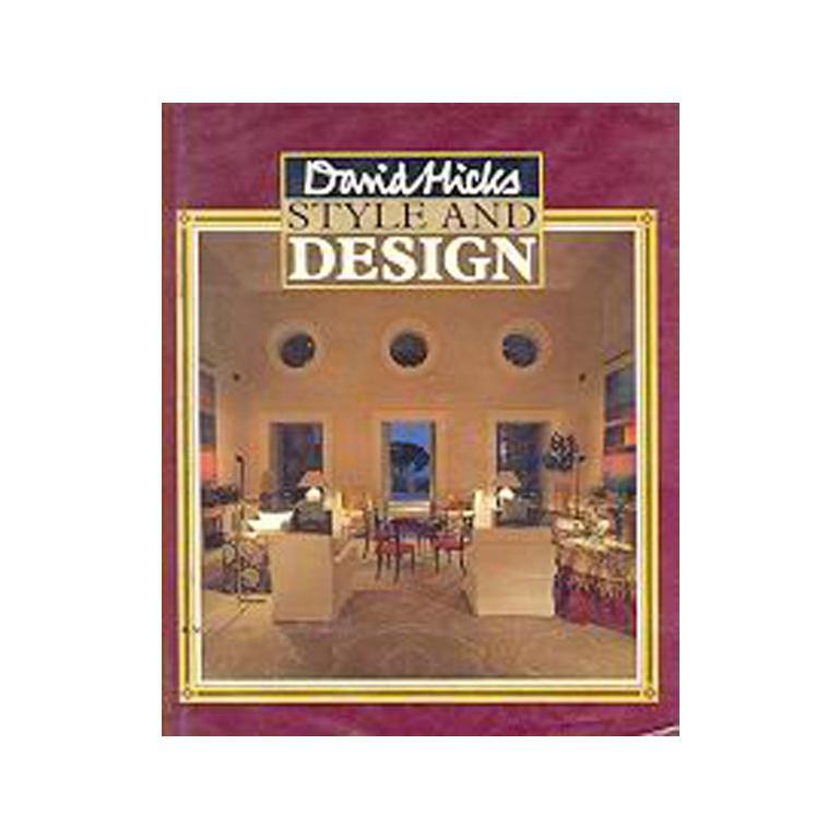 David Hicks Style & Design First Edition Book, 1987