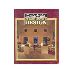 David Hicks Style & Design First Edition Book, 1987