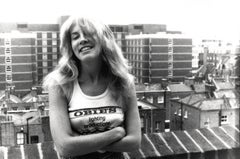 Candid and Young Stevie Nicks Smiling Vintage Original Photograph