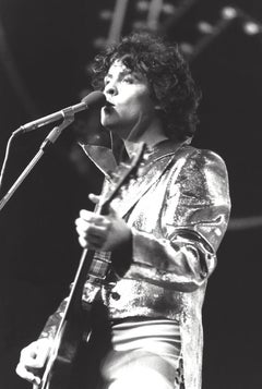 Steve Currie Performing with T Rex Vintage Original Photograph