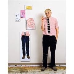 David Hockney in the Studio, Los Angeles