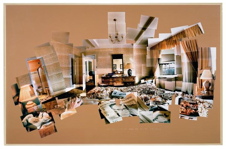 Sunday Morning Mayflower Hotel NY Nov. 28, 1982  David Hockney photo collage - Photograph by David Hockney