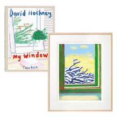 David Hockney My Window, Art Edition (No. 501–750) 'No. 610', 23rd December 2010