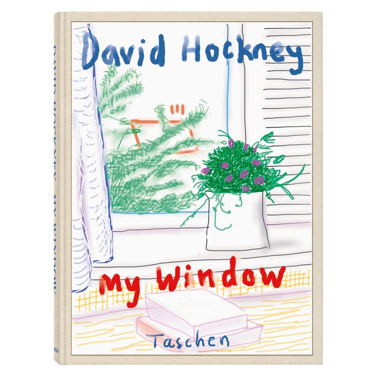 David Hockney, My Window For Sale