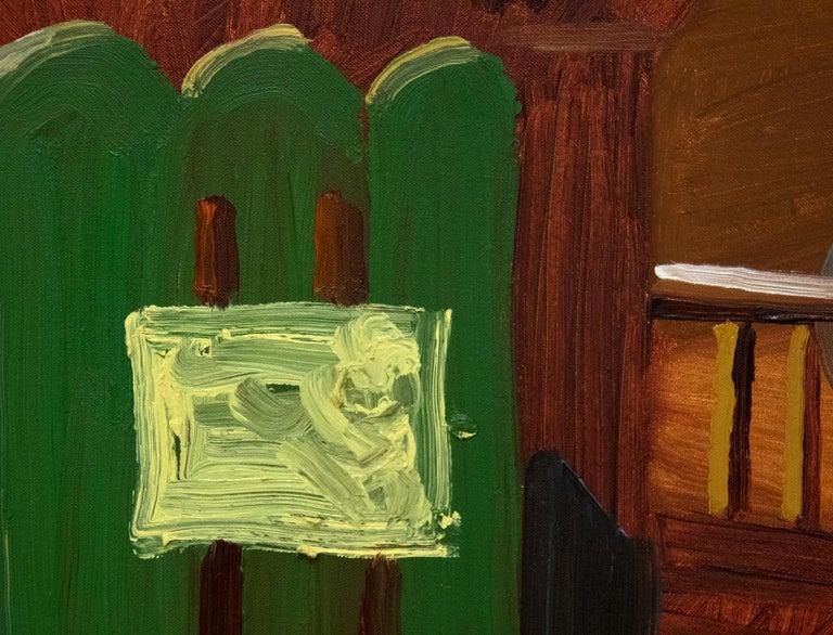 Bridlington Studio Interior - Pop Art Painting by David Hockney