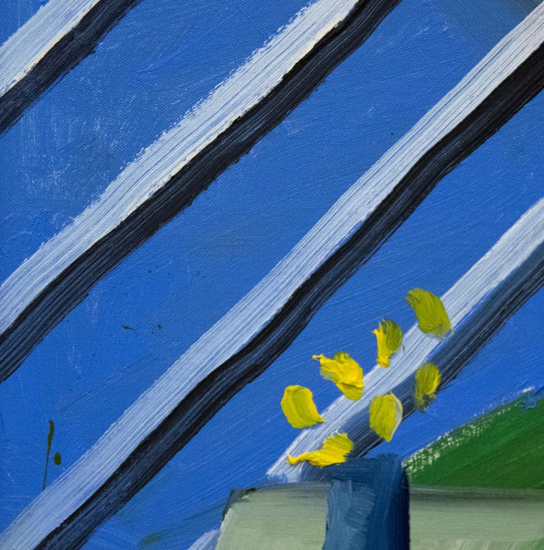 A painting by David Hockney.