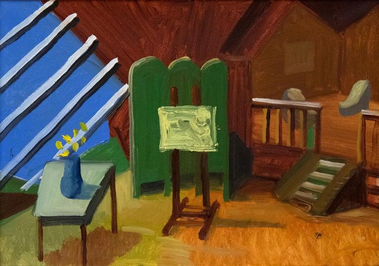 David Hockney Interior Painting - Bridlington Studio Interior
