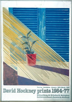 1981 After David Hockney 'Sun from the Weather Series' Pop Art Lithograph