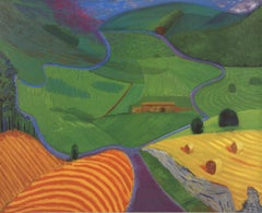 1997 David Hockney 'North Yorkshire' Pop Art United Kingdom Offset Lithograph