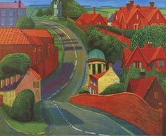 1997 David Hockney 'The Road to York Through Sledmere' Pop Art United Kingdom