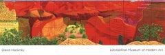 2011 After David Hockney 'A Closer Grand Canyon' Pop Art Multicolor