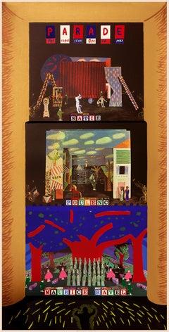 A French Triple Bill (Metropolitan Opera) original Hockney design