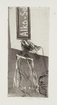 Alka Seltzer - Pop Art, Contemporary Art, David Hockney, Etching