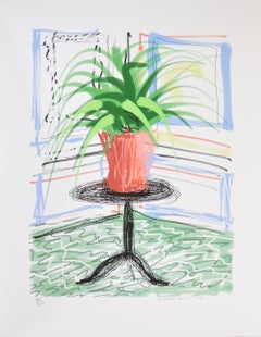 David Hockney, iPad drawing 'Untitled 468' – signed and dated 2010