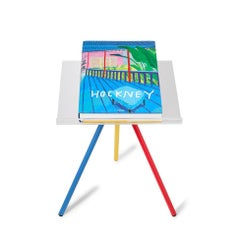David Hockney 'A Bigger Book' Signed, Limited Edition Book on Stand