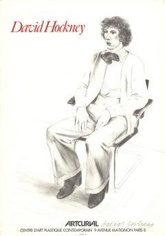 "Artcurial Poster, Gregory Evans-30"" x 21""-"
