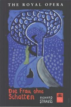 "The Royal Opera Poster - Die Frau Ohne Schatten-30"" x 20""-Serigraph-1992"