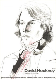 """Drawings and Prints (Peter with Scarf)-33.25"""" x 23.25""""-Poster-1977"""
