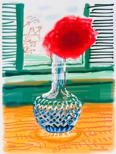 David Hockney, My Window: iPad drawing 'No. 281', signed