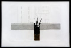 David Hockney, STILL LIFE (S.A.C.111), etching with aquatint, 1969