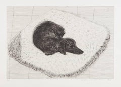 Dog Etching No.12, from Dog Wall
