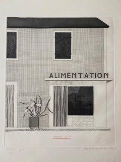 French Shop - David Hockney, Prints, Etching, Contemporary Prints,