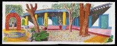 Hotel Acatlan: Second Day, David Hockney