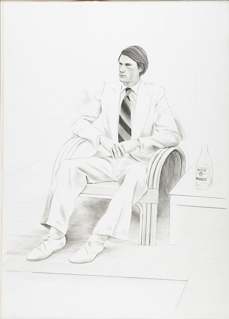 David Hockney Portrait Print - JOE MCDONALD