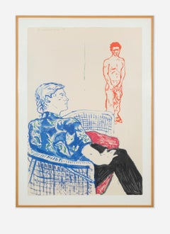 """""""Joe With David Harte"""", Lithograph, Signed and Numbered by Artist"""