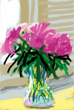 My Window. Art Edition (No. 1–250), iPad drawing 'No. 535', 28th June 2009