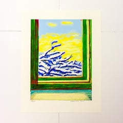 My Window Art Edition (No. 501–750) with a print of the iPad drawing No.610
