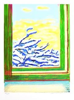 David Hockney, My Window, iPad drawing 'No. 610', signed, 2010