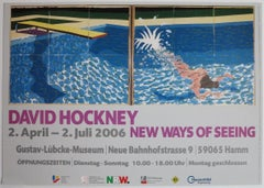 New Ways of Seeing (Le Plongeur / Paper Pool) Exhibition Poster
