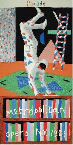 Parade - Screenprinted Poster by David Hockney - 1981