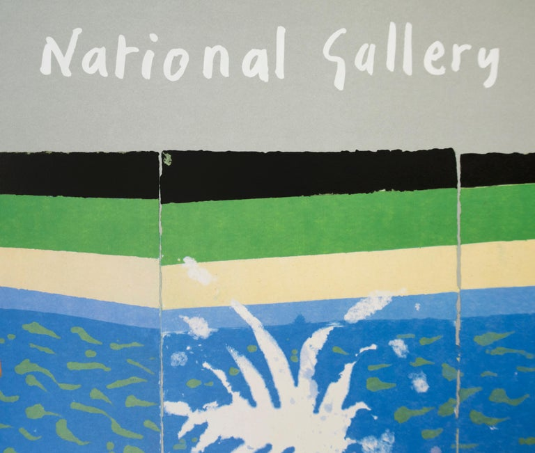 The Australian National Gallery Canberra (Paper Pool 17) vintage poster For Sale 1