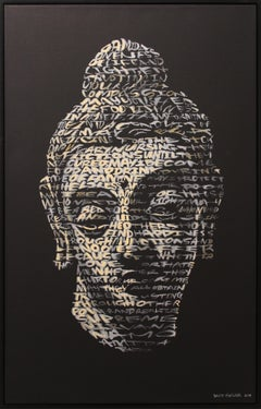 """Buddha"" Text: Metta Karuna Prayer"