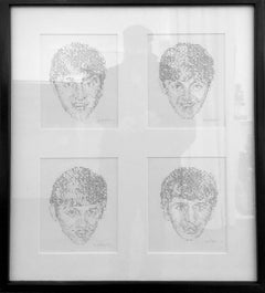The Beatles Quadtych