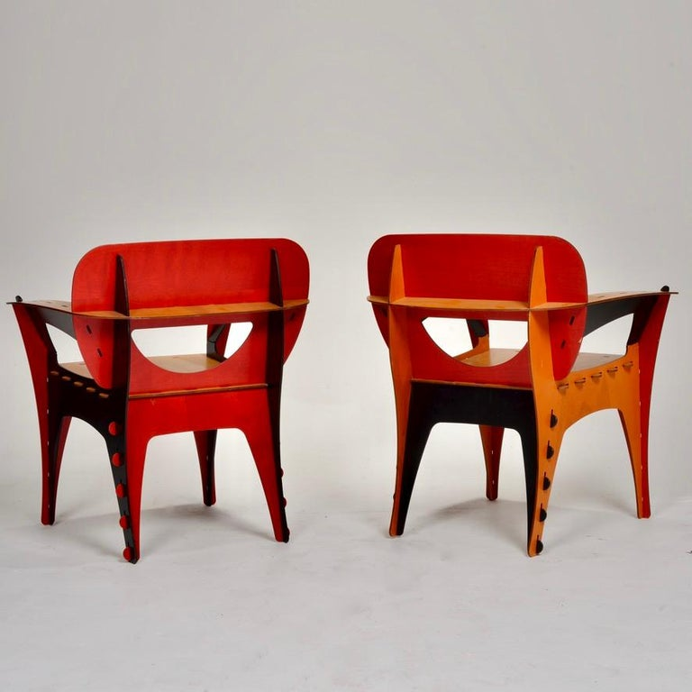 American David Kawecki Puzzle #1 Chairs '40 Available' For Sale
