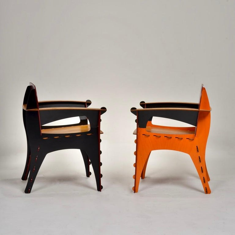 David Kawecki Puzzle #1 Chairs '40 Available' In Excellent Condition For Sale In Los Angeles, CA